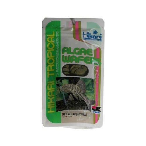 2.89 Oz Algae Wafers Fish Pet Product, Vegetable Matter, Balanced Nutrition