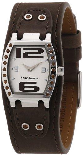 Bruno Banani - BR21097 - Montre Femme - Quartz Analogique - Bracelet Cuir Noir