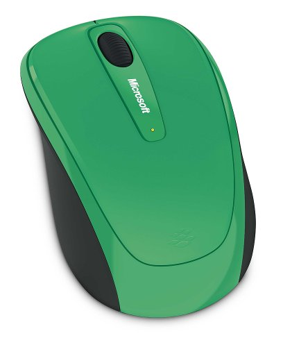 Microsoft Wireless Mobile Mouse 3500 - Turf Green