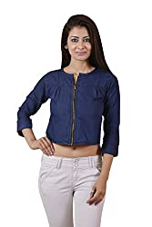 Carrol Women's, Girl's Denim Blue Top