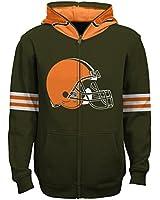 NFL Cleveland Browns Full Zip Helmet Hoodie