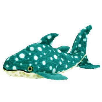 TY Beanie Baby - POSEIDON the Whale Shark