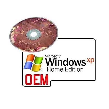 Windows XP Home Edition SP3 OEM - 1 poste (Licence et support)