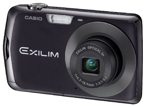 Casio Exilim EX-Z330 Digital Camera - Black (12.1MP, 3x Optical Zoom) 2.7 inch LCD