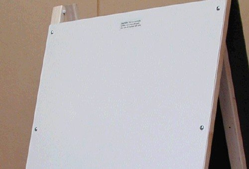 Beka 03001 Washable Magnet Board For Double-Sided Easel