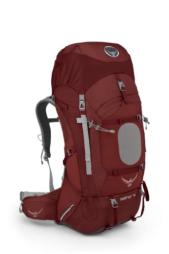 Osprey Men's Aether 70 Backpack, Arroyo Red, Large