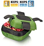 Lunch Box ~Pinnacle Insulated Leak Proof Lunch Box for Adults and Kids -Durable High Quality Thermal Lunch Container~GREEN