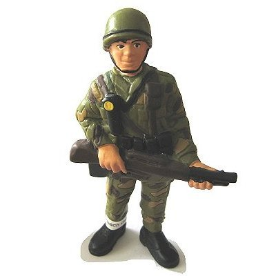 Bullyland - Standing Soldier Figurine - French version