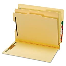 GLW23835 - Globe-Weis Manila End Tab Classification Folder