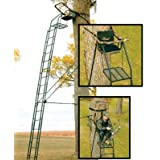 Big Game Skybox Deluxe Treestand (20-Feet) by BIG GAME