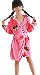 Bigood Winter Baby Cartoon Nightgown Sleepwear Rosy Mickey Aisa 105 Length 70 cm