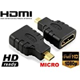 EASY PLACE - adattatore da hdmi FEMMINA A micro HDMI maschio easy
