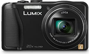 Panasonic DMC-TZ36EG-K Digitalkamera (16 Megapixel, MOS sensor, 20-fach opt. Zoom, 7,5 cm (3 Zoll) Display, HDMI, bildstabilisator) schwarz