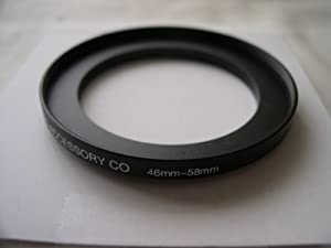HeavyStar Dedicated Metal Stepup Ring 46mm-58mm