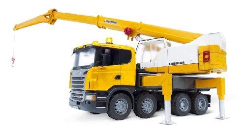 Bruder 3570 Scania R-Series Liebherr Crane Truck
