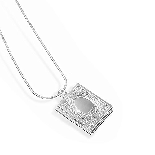 Besondere Design Fashion Jewelry Halskette Bibel 925 Silber