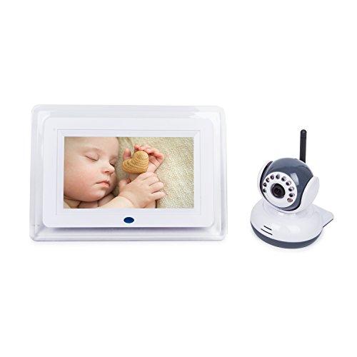 baby monitor 7 lcd wireless digital video monitors camera set night v. Black Bedroom Furniture Sets. Home Design Ideas