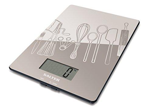 Salter 2049792 Balance de Cuisine avec de Motive de la Cuisine Plastique 26 x 21 x 4 cm