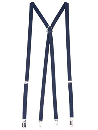 American Apparel Unisex Suspender - Navy / One Size