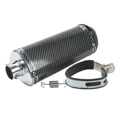 Exhaust Muffler Pipe Slip On For Universal Motorcycles Streetbikes Motorbike New (Carberator Intake compare prices)