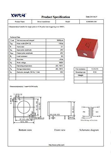 Trasformatore Di Attivazione SCR KMB 3081-301