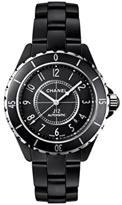 Chanel Ceramic Midsize Watch H3131 J12 by Chanel