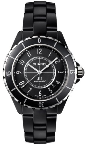NEW CHANEL CERAMIC MIDSIZE WATCH H3131 J12