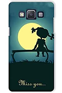 IndiaRangDe Case For Samsung Galaxy A5 Printed Back Cover