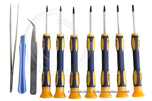 10-teiliger-Torx-Schraubendrehersatz-T3-T4-T5-T6-T7-T8-und-T10