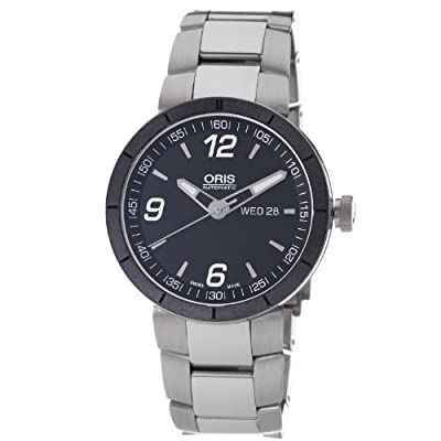 Oris Men's 73576514174MB TT1 Black Day Date Dial Watch from Orchard Clyst