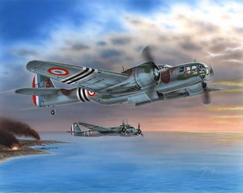 1/48 マ−チン モデル167F グレン爆撃機<フランス空軍1940/45>