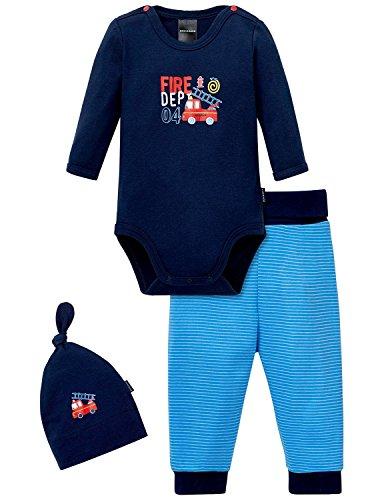Schiesser Baby-Jungen Unterwäsche Set, 3er Pack, Mehrfarbig (Sortiert 1 901), 80 (Herstellergröße: 080)