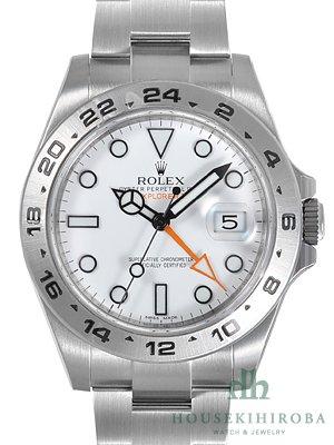 ROLEX ロレックス オイスターパーペチュアルエクスプローラーII 216570 [ホワイト][並行輸入品] [時計][メンズ]