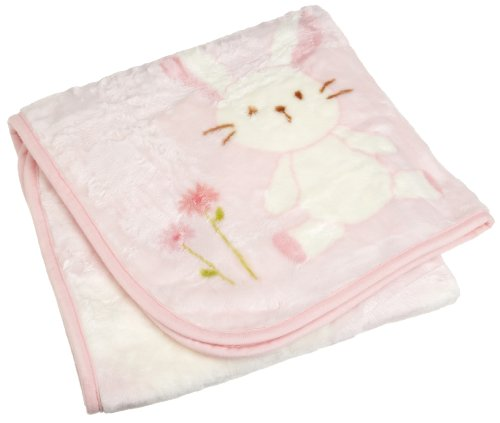 Carters Snoozysnug Blanket, Pink back-141660
