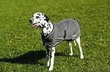 EQUI-THÃME'Polar' dog rug - 31 cm/12' - Grey, Pink Binding
