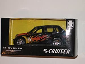 Black Chrysler PT Cruiser 1/18 Die-Cast Model