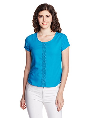 Style Quotient By NOI Women's Body Blouse Shirt (SS16SQADITI_Teal_Large)  available at amazon for Rs.314