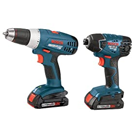 Bosch CLPK23-180 18V 2-Tool Litheon Combo Kit