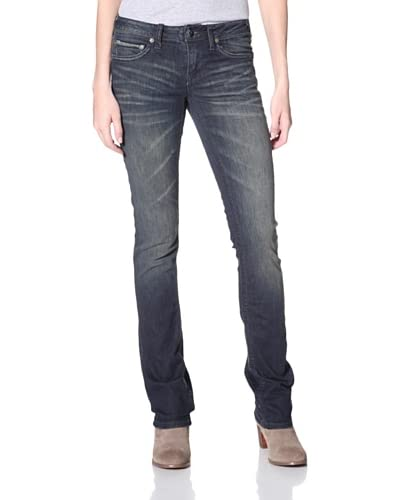 Stitch's Women's Straight Leg Jeans  - Muddy