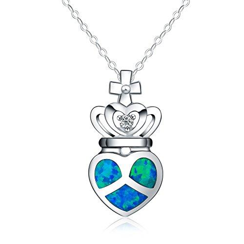 collar-con-colgante-de-mujer-18-forma-de-corona-opalo-azul-sintetico-plata-esterlina-925