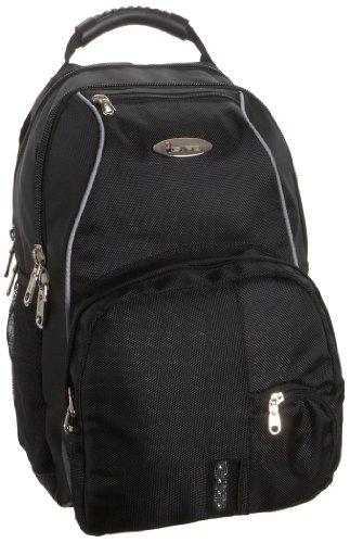 iSafe School BackPack, Black, One Size