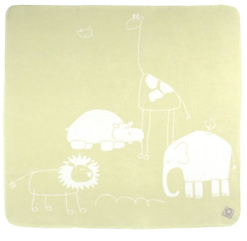 Kushies Baby Safari Blanket, Green