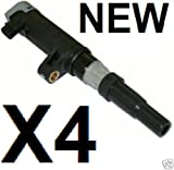 New pencil dry Ignition Coil X4 Renault Scenic 1.4 16v