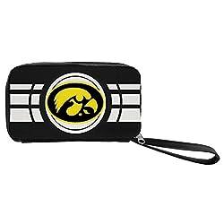 NCAA Iowa Hawkeyes Ripple Zip Wallet