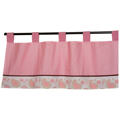 Pam'S Paisley Curtain Valance front-1060689