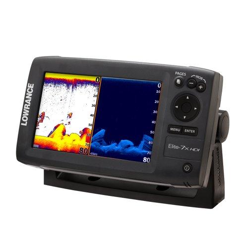 Lowrance fishfinder lowrance 000 10961 001 elite 7x for Fish finder transducer