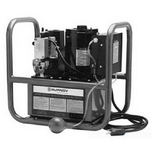 "Burndy Epac10 Epac Series Electric/Hydraulic Pump, Air Control, 10000 Psi, 17-1/2"" Height"
