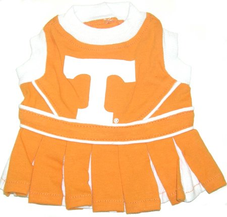 Mirage Pet Products Dog Apparel Tennessee Vols Sports Pet CheerLeading Dress Uinform