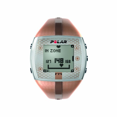 Polar Polar FT4 Heart Rate Monitor Watch (Bronze/Bronze)