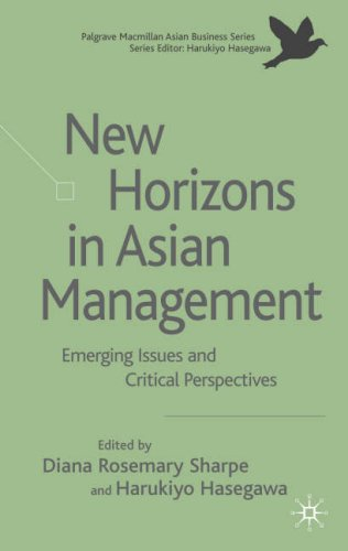 New Horizons in Asian Management: Emerging Issues and Critical Perspectives (Asian Business Series)
